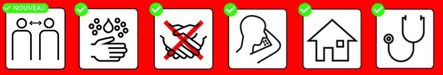 Mesures de précautions (MAJ 17.03)